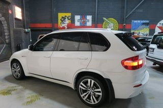 2010 BMW X5 E70 MY11 M Steptronic White 6 Speed Sports Automatic Wagon