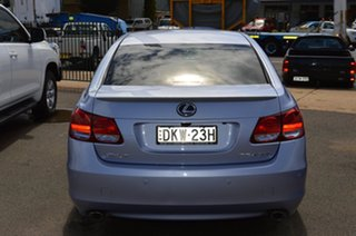2008 Lexus GS450H GWS191R MY08 Hybrid Twilight Blue Continuous Variable Sedan.