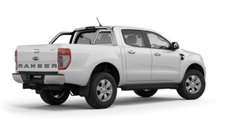 2018 Ford Ranger PX MkIII 2019.00MY XLT Pick-up Double Cab Frozen White 10 Speed Sports Automatic.