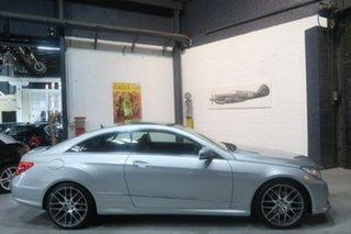 2013 Mercedes-Benz E250 C207 MY12 BlueEFFICIENCY 7G-Tronic + Avantgarde Silver 7 Speed.