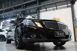 2010 Mercedes-Benz E220 W212 BlueEFFICIENCY Elegance Black 5 Speed Sports Automatic Sedan