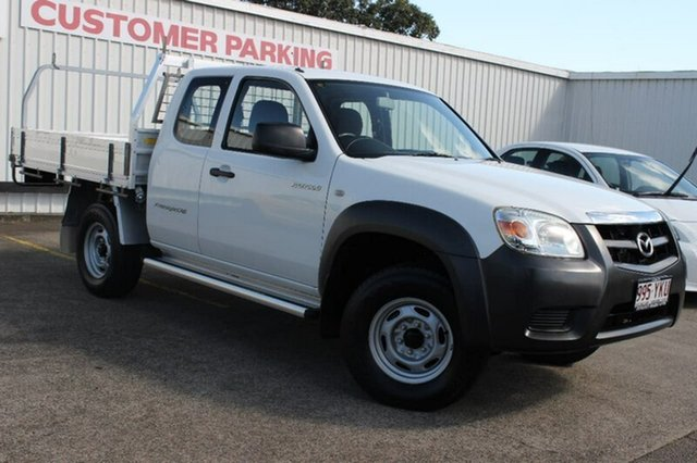 Used Mazda BT-50 UNY0E4 DX+ Freestyle 4x2, 2008 Mazda BT-50 UNY0E4 DX+ Freestyle 4x2 White 5 Speed Manual Cab Chassis