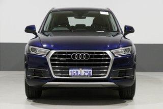 2017 Audi Q5 FY MY17 2.0 TDI Quattro Design Blue 7 Speed Auto S-Tronic Wagon.