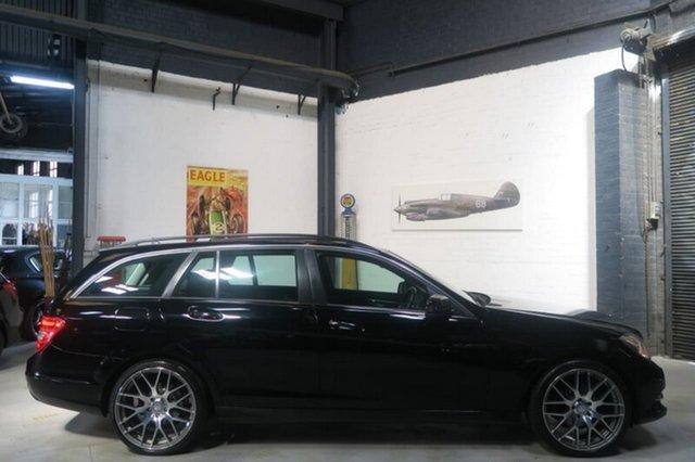 Used Mercedes-Benz C200 CDI W204 BlueEFFICIENCY Elegance, 2012 Mercedes-Benz C200 CDI W204 BlueEFFICIENCY Elegance Black Sports Automatic Wagon