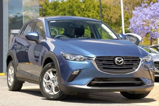 2020 Mazda CX-3 DK2W7A Maxx SKYACTIV-Drive FWD Sport Eternal Blue 6 Speed Sports Automatic Wagon.