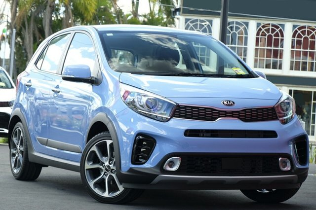 New Kia Picanto JA MY19 AO Edition, 2019 Kia Picanto JA MY19 AO Edition Alice Blue 4 Speed Automatic Hatchback