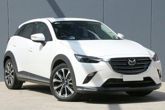New Mazda CX-3 DK2W7A Akari SKYACTIV-Drive FWD Wollongong, 2021 Mazda CX-3 DK2W7A Akari SKYACTIV-Drive FWD Snowflake White Pearl 6 Speed Sports Automatic Wagon