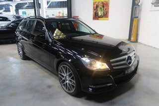 2012 Mercedes-Benz C200 CDI W204 MY13 BlueEFFICIENCY Estate 7G-Tronic + Elegance Black 7 Speed.