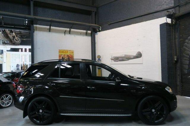 Used Mercedes-Benz ML500 W164 Sports Luxury, 2008 Mercedes-Benz ML500 W164 Sports Luxury Black Sports Automatic Wagon