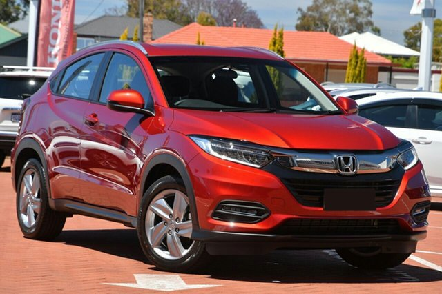 New Honda HR-V MY20 VTi-S Cardiff, 2020 Honda HR-V MY20 VTi-S Passion Red 1 Speed Constant Variable Hatchback