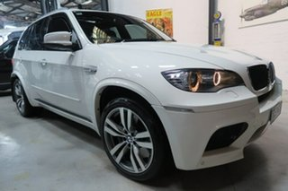 2010 BMW X5 E70 MY11 M Steptronic White 6 Speed Sports Automatic Wagon.