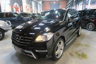 2014 Mercedes-Benz ML250 W166 MY805 BlueTEC 7G-Tronic + Black 7 Speed Sports Automatic Wagon
