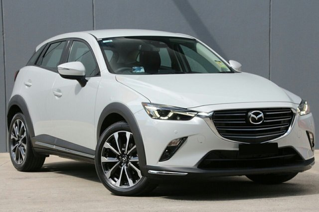 New Mazda CX-3 DK2W7A sTouring SKYACTIV-Drive FWD North Rockhampton, 2020 Mazda CX-3 DK2W7A sTouring SKYACTIV-Drive FWD Snowflake White Pearl 6 Speed Sports Automatic