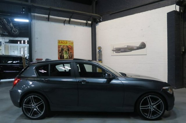 Used BMW 118i F20 , 2013 BMW 118i F20 Grey Sports Automatic Hatchback
