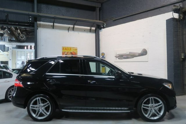 Used Mercedes-Benz ML250 W166 Bluetec, 2012 Mercedes-Benz ML250 W166 Bluetec Black Sports Automatic Wagon