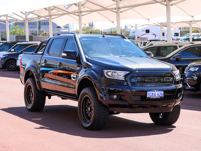 Used Ford Ranger PX MkII MY18 FX4 Special Edition, 2017 Ford Ranger PX MkII MY18 FX4 Special Edition Black 6 Speed Manual Dual Cab Utility
