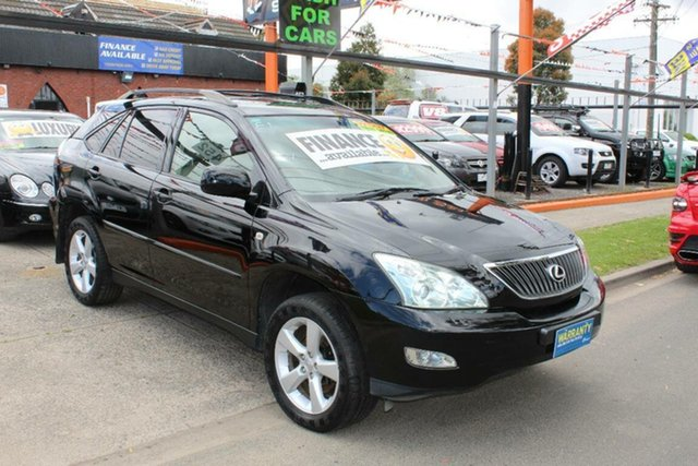 Used Lexus RX350 GSU35R 06 Upgrade Sports Luxury, 2006 Lexus RX350 GSU35R 06 Upgrade Sports Luxury Black 5 Speed Sequential Auto Wagon
