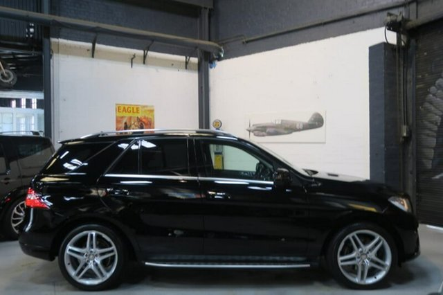 Used Mercedes-Benz ML250 W166 Bluetec, 2014 Mercedes-Benz ML250 W166 Bluetec Black Sports Automatic Wagon