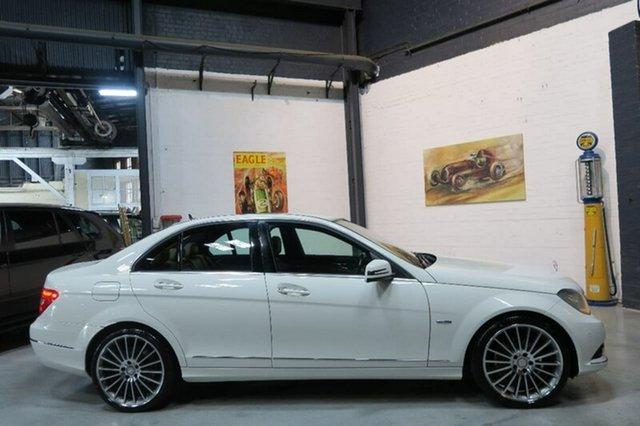 Used Mercedes-Benz C250 W204 MY11 BlueEFFICIENCY 7G-Tronic + Avantgarde, 2011 Mercedes-Benz C250 W204 MY11 BlueEFFICIENCY 7G-Tronic + Avantgarde White 7 Speed