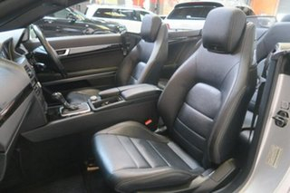 2010 Mercedes-Benz E350 A207 Elegance Silver Sports Automatic Cabriolet.