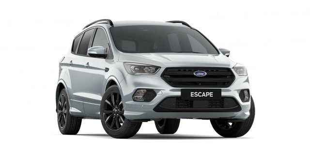 New Ford Escape ZG 2018.75MY ST-Line AWD, 2018 Ford Escape ZG 2018.75MY ST-Line AWD Moondust Silver 6 Speed Sports Automatic Wagon