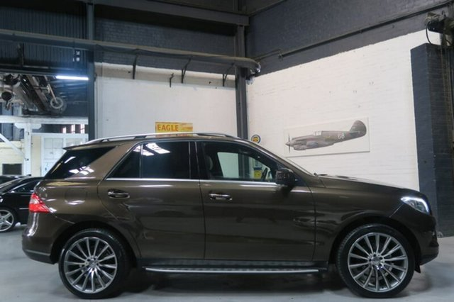 Used Mercedes-Benz ML250 W166 Bluetec, 2013 Mercedes-Benz ML250 W166 Bluetec Brown Sports Automatic Wagon