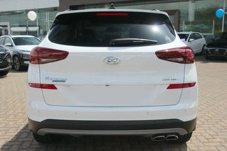 2020 Hyundai Tucson TL3 MY21 Highlander AWD Pure White 8 Speed Sports Automatic Wagon