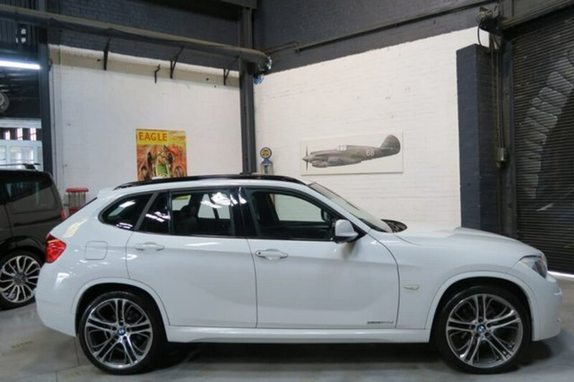Used BMW X1 E84 sDrive20d, 2012 BMW X1 E84 sDrive20d White Sports Automatic Wagon