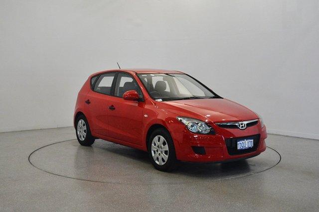 Used Hyundai i30 FD MY11 SX, 2011 Hyundai i30 FD MY11 SX Shine Red 4 Speed Automatic Hatchback
