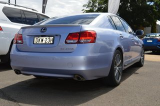 2008 Lexus GS450H GWS191R MY08 Hybrid Twilight Blue Continuous Variable Sedan.