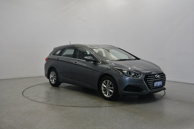 Used Hyundai i40 VF4 Series II Active Tourer, 2017 Hyundai i40 VF4 Series II Active Tourer Titanium Silver 6 Speed Sports Automatic Wagon