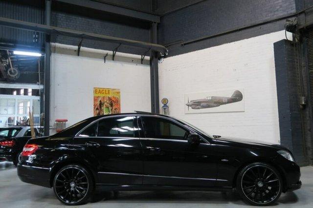 Used Mercedes-Benz E220 CDI W212 BlueEFFICIENCY Elegance, 2010 Mercedes-Benz E220 CDI W212 BlueEFFICIENCY Elegance Black Sports Automatic Sedan