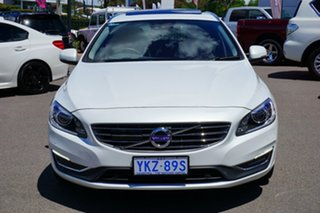2015 Volvo V60 F Series MY16 T5 Geartronic Luxury White 8 Speed Sports Automatic Wagon.