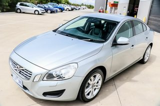 2011 Volvo S60 F Series T5 PwrShift Silver 6 Speed Sports Automatic Dual Clutch Sedan.