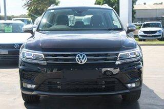 2020 Volkswagen Tiguan 5N MY20 132TSI Comfortline DSG 4MOTION Allspace Black 7 Speed
