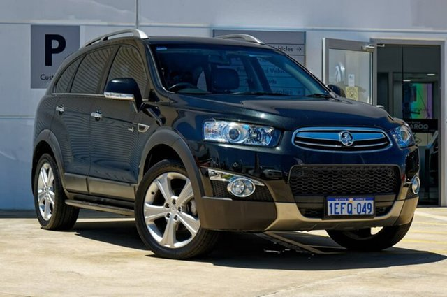 Used Holden Captiva CG MY13 7 AWD LX, 2013 Holden Captiva CG MY13 7 AWD LX Black 6 Speed Sports Automatic Wagon