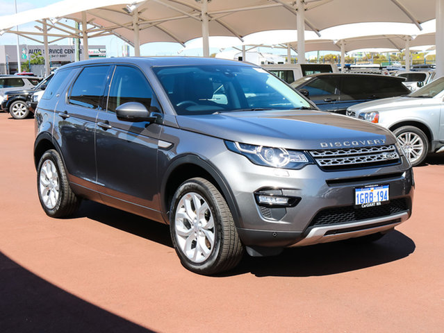 Used Land Rover Discovery Sport LC MY17 TD4 150 HSE 5 Seat, 2017 Land Rover Discovery Sport LC MY17 TD4 150 HSE 5 Seat Grey 9 Speed Automatic Wagon