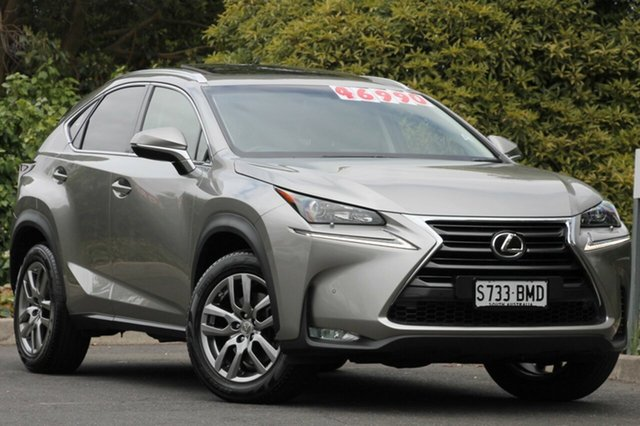 Used Lexus NX AGZ10R NX200t 2WD Luxury, 2016 Lexus NX AGZ10R NX200t 2WD Luxury Titanium 6 Speed Sports Automatic Wagon