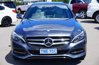 2015 Mercedes-Benz C250 W205 BlueTEC 7G-Tronic + Grey 7 Speed Sports Automatic Sedan
