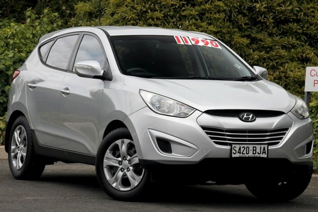 Used Hyundai ix35 LM2 Active, 2012 Hyundai ix35 LM2 Active Platinum Silver 6 Speed Sports Automatic Wagon