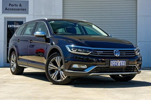 Used Volkswagen Passat 3C (B8) MY18 140TDI DSG 4MOTION Alltrack, 2017 Volkswagen Passat 3C (B8) MY18 140TDI DSG 4MOTION Alltrack Black 6 Speed