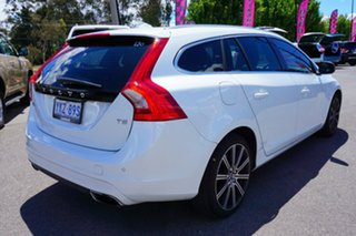2015 Volvo V60 F Series MY16 T5 Geartronic Luxury White 8 Speed Sports Automatic Wagon