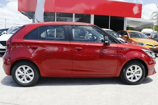 2020 MG MG3 SZP1 MY21 Core Red 4 Speed Automatic Hatchback