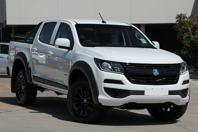 Demo Holden Colorado RG MY20 LS-X Pickup Crew Cab, 2019 Holden Colorado RG MY20 LS-X Pickup Crew Cab Summit White 6 Speed Sports Automatic Utility