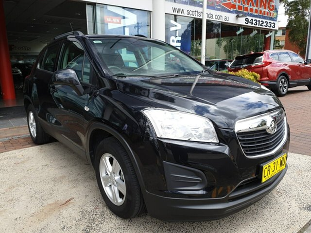 Used Holden Trax TJ MY16 LS, 2016 Holden Trax TJ MY16 LS Black 6 Speed Automatic Wagon