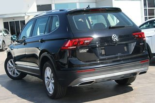 2020 Volkswagen Tiguan 5N MY20 132TSI Comfortline DSG 4MOTION Allspace Black 7 Speed.
