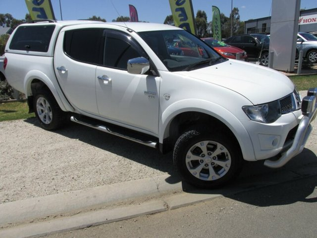 Used Mitsubishi Triton MN MY11 GLX-R Double Cab, 2011 Mitsubishi Triton MN MY11 GLX-R Double Cab White 5 Speed Sports Automatic Utility