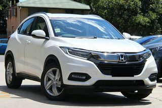 2019 Honda HR-V MY20 VTi-S Platinum White 1 Speed Constant Variable Hatchback.