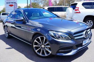 2015 Mercedes-Benz C250 W205 BlueTEC 7G-Tronic + Grey 7 Speed Sports Automatic Sedan.