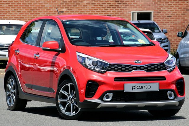 New Kia Picanto JA MY19 AO Edition, 2019 Kia Picanto JA MY19 AO Edition Signal Red 4 Speed Automatic Hatchback